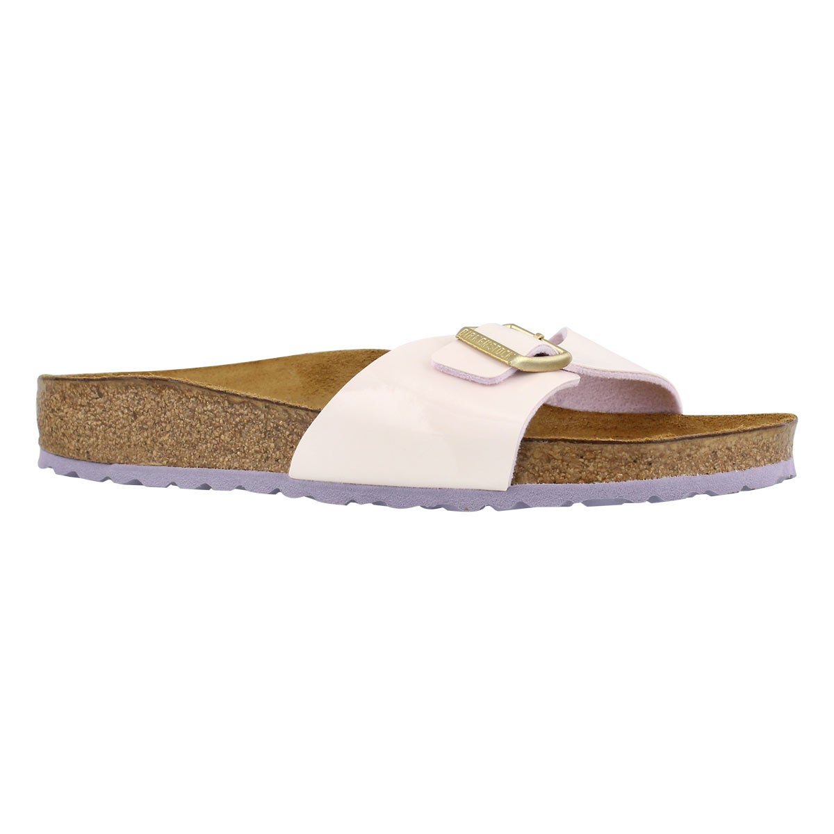 Women's MADRID BF crm pnk pat sandals - Narrow