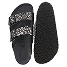 Sandale Arizona BF, galets noir mét, fem
