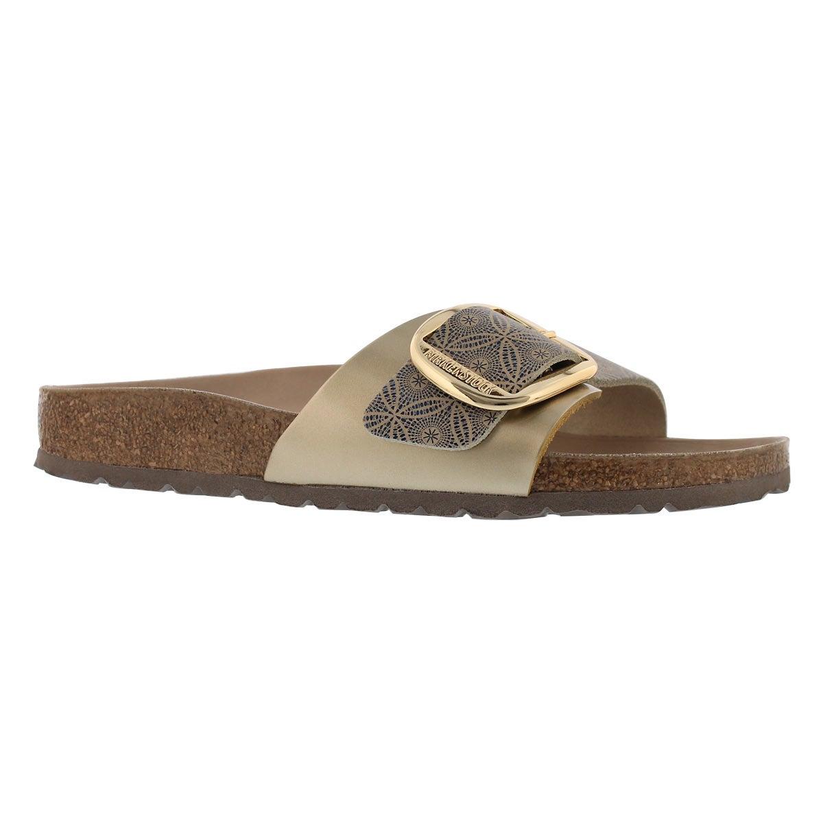 Women's MADRID BIG BUCKLE LTR sandals - Narrow