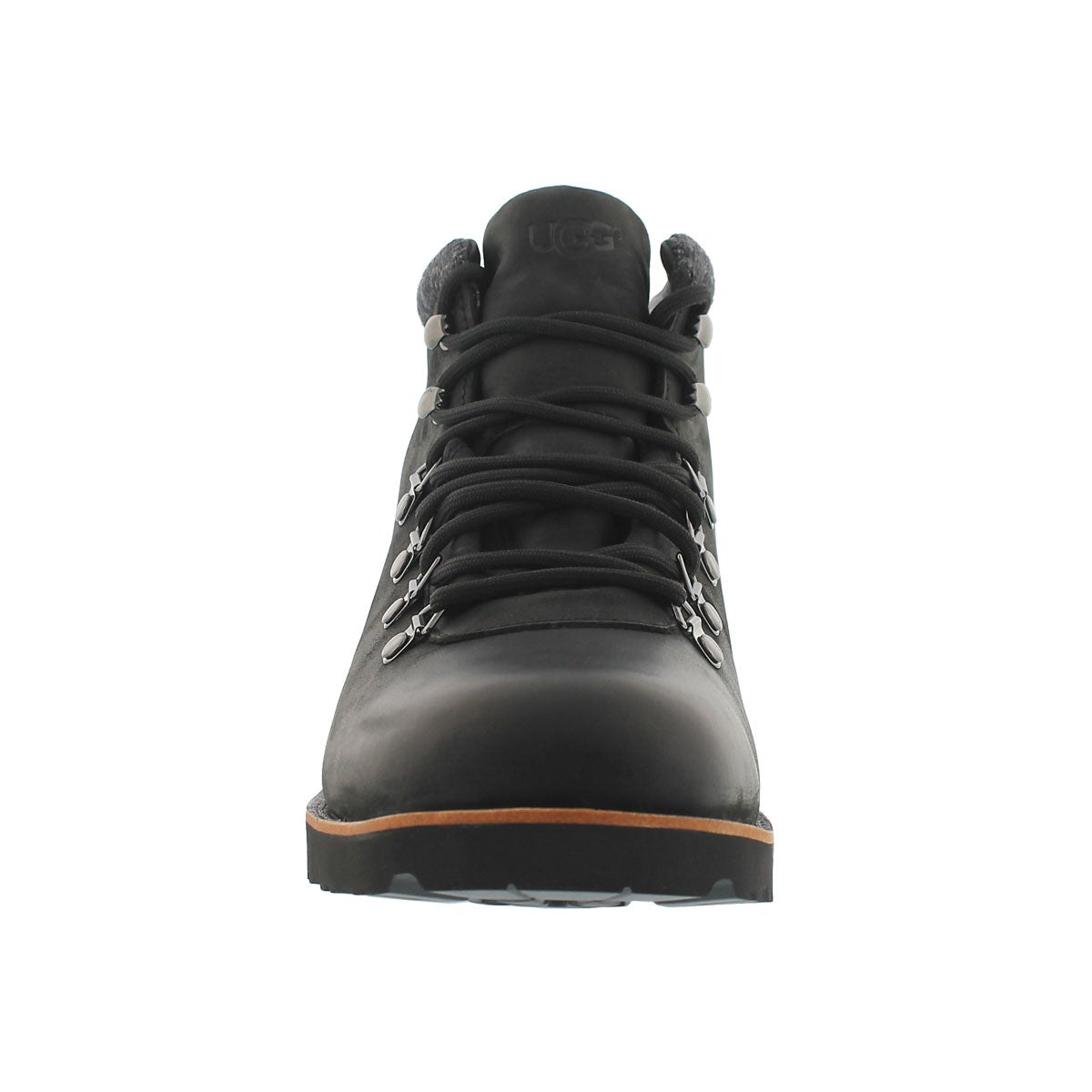 Mns Boysen blk lined ankle boot