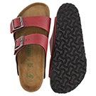 Lds Arizona Vegan bordeaux slide sandal