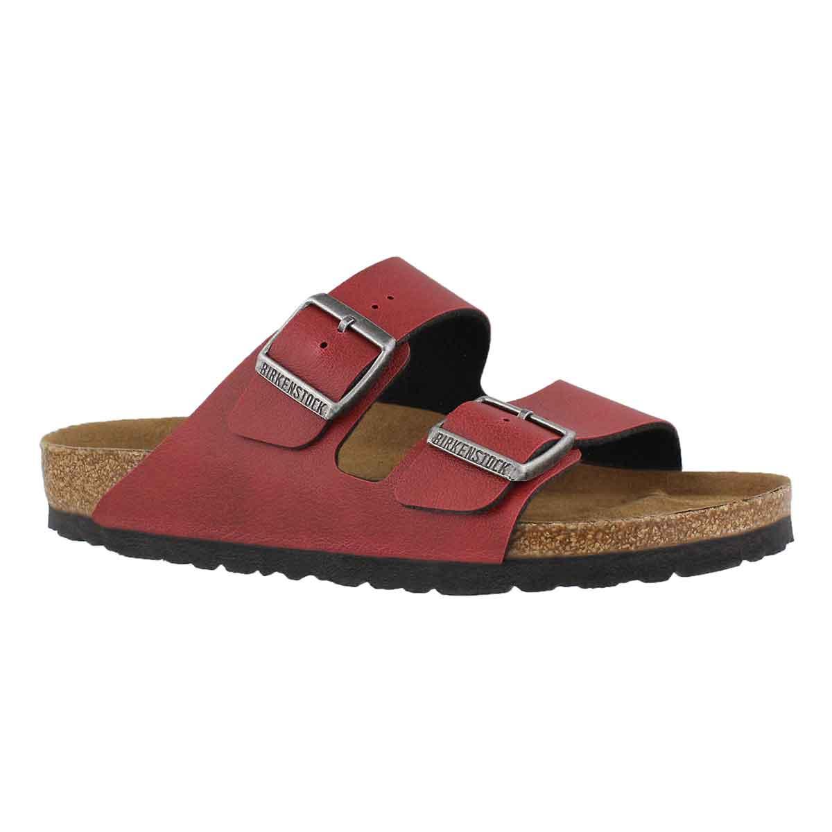Women's ARIZONA VEGAN bordeaux slide sandals