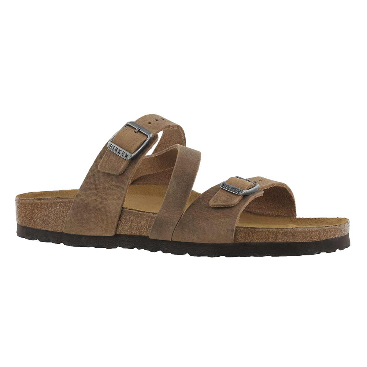 Women's SALINA CANBERRA tobacco sandals - Narrow