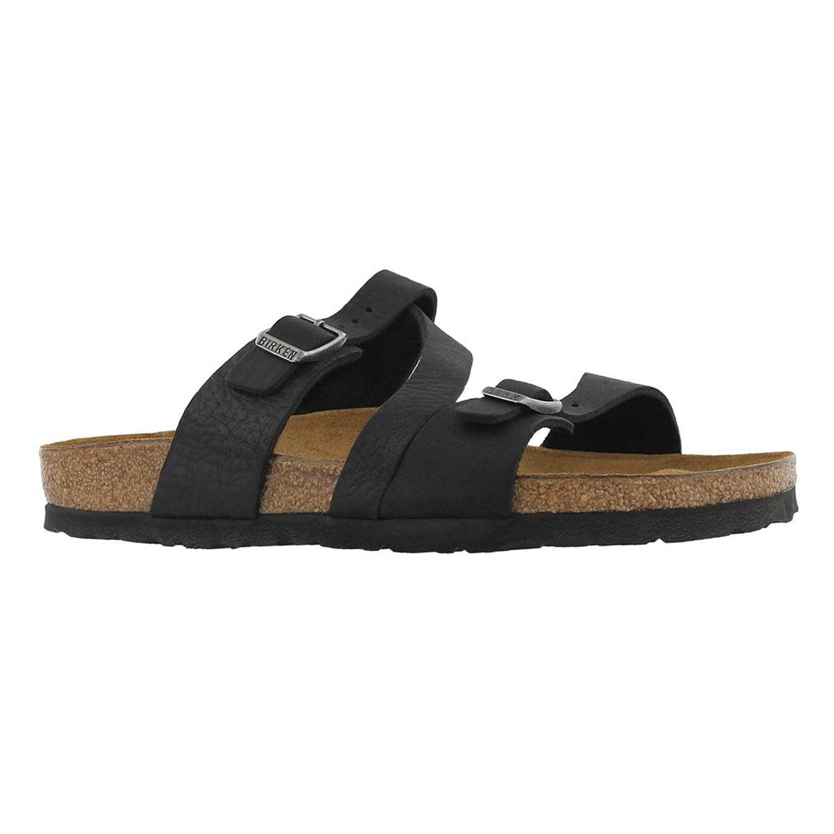 Women's SALINA CANBERRA black sandals - Narrow