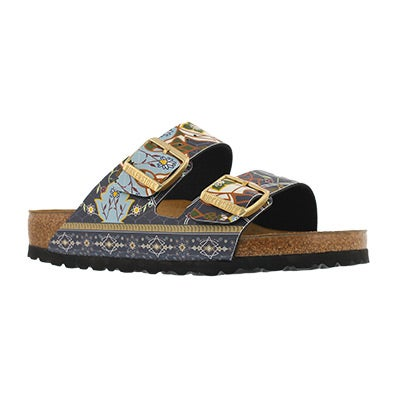 Lds Arizona BF ancient mosaic blu sandal