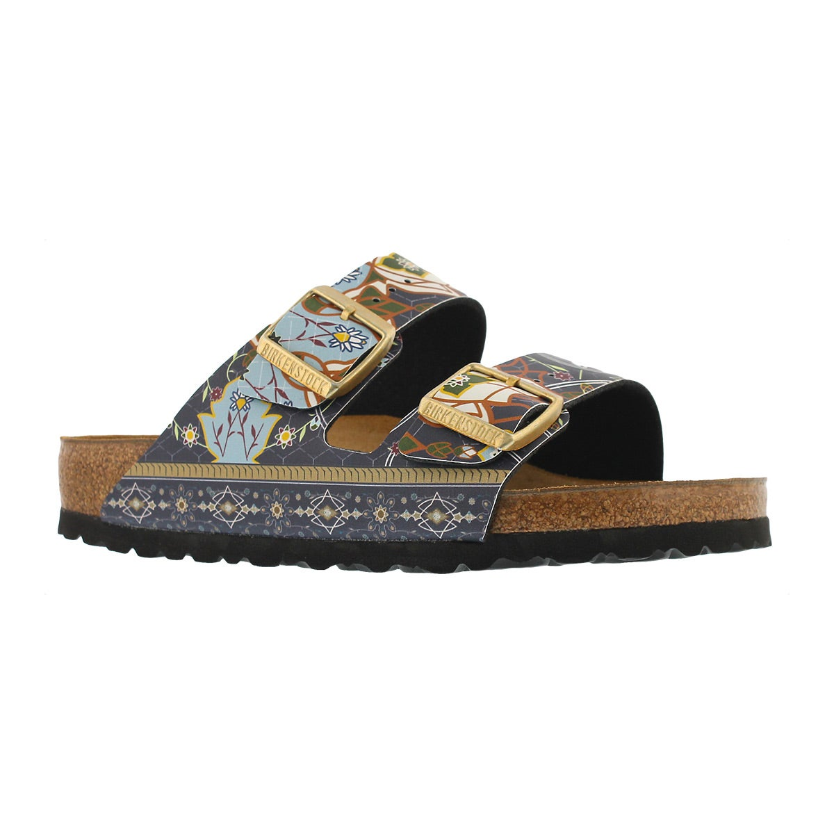 Women's ARIZONA BF ancient mosaic blu sandals