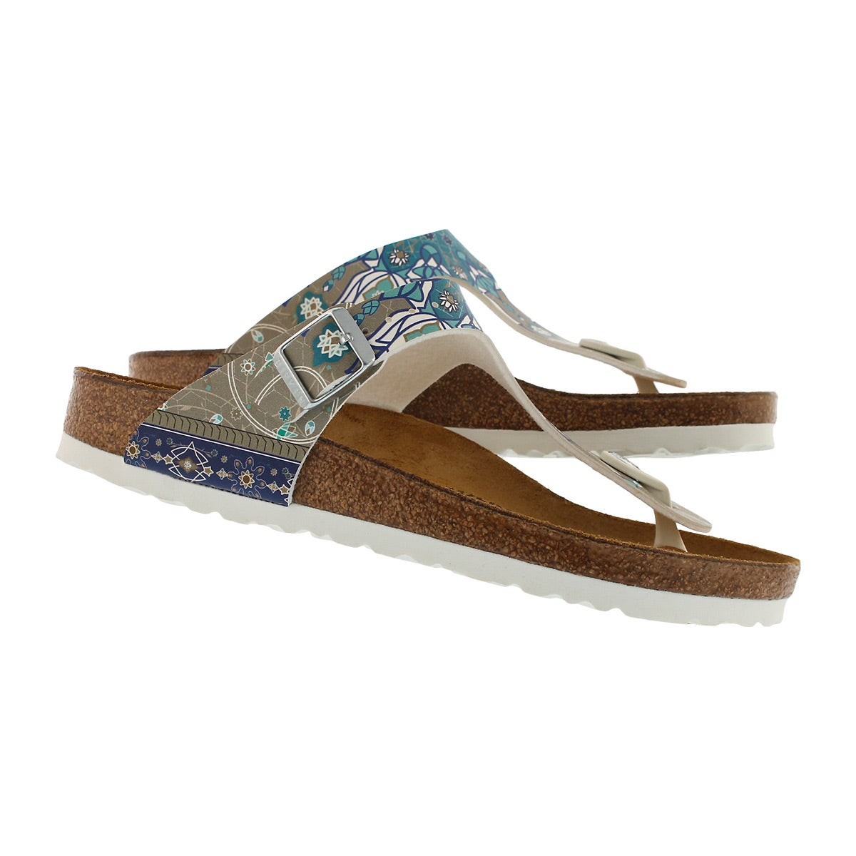 Lds Gizeh BF ancient mosaic thong sandal