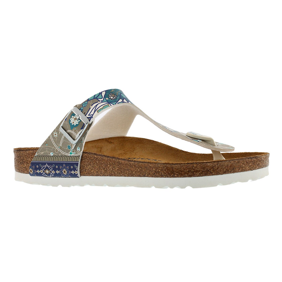 Women's GIZEH BF ancient mosaic sandals