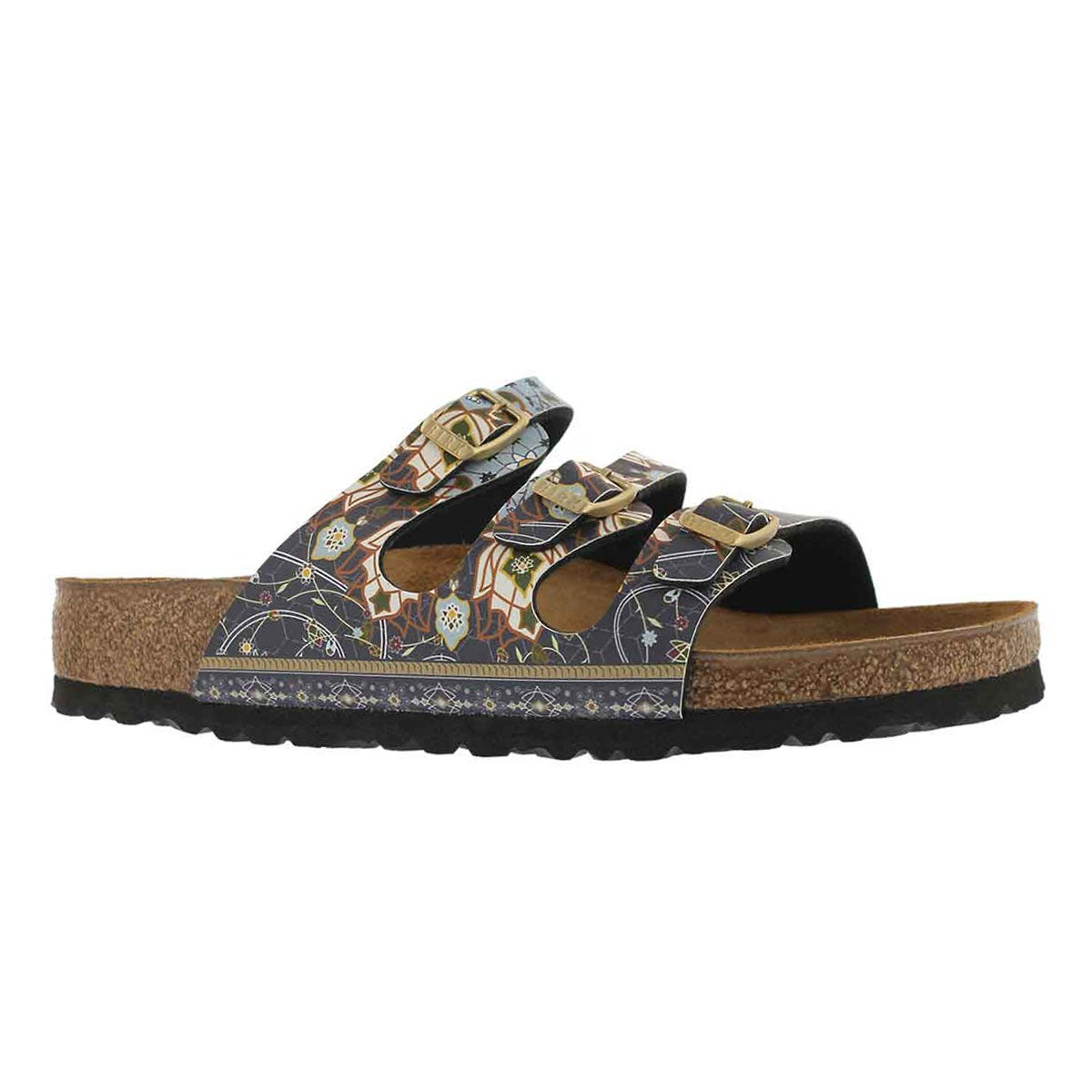 Women's FLORIDA BF ancient mosaic blu sandals