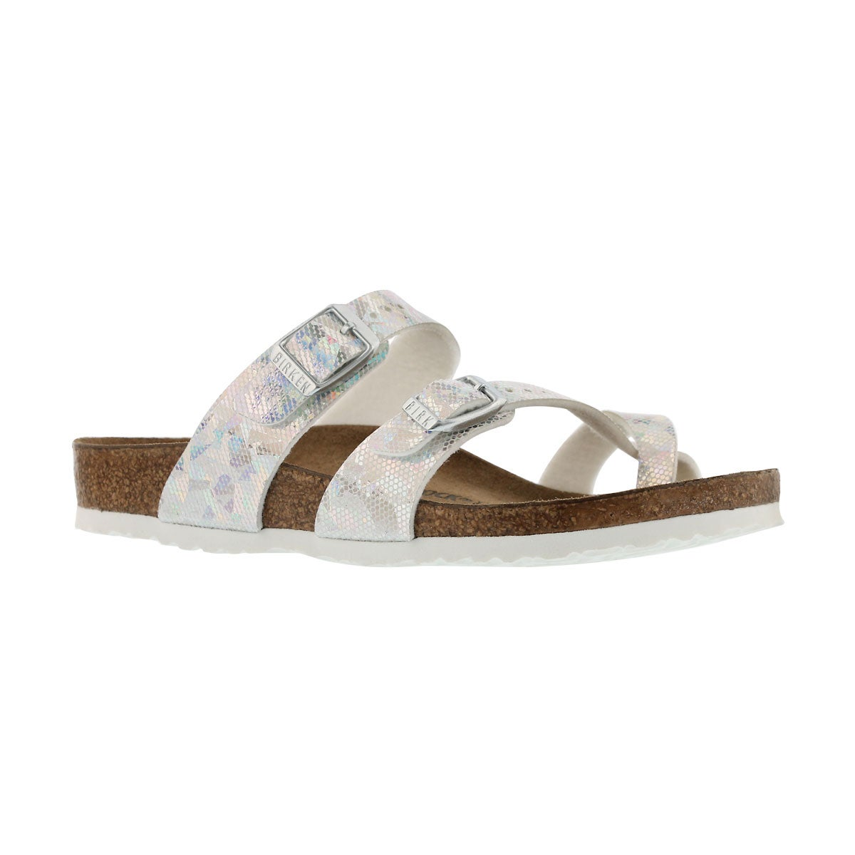 Grls Mayari BF hologram silver sandal