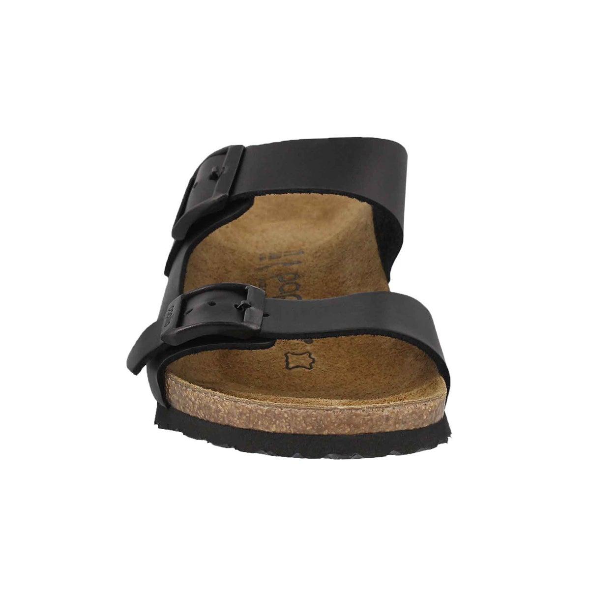 Lds Emina LTR black wedge sandal-N