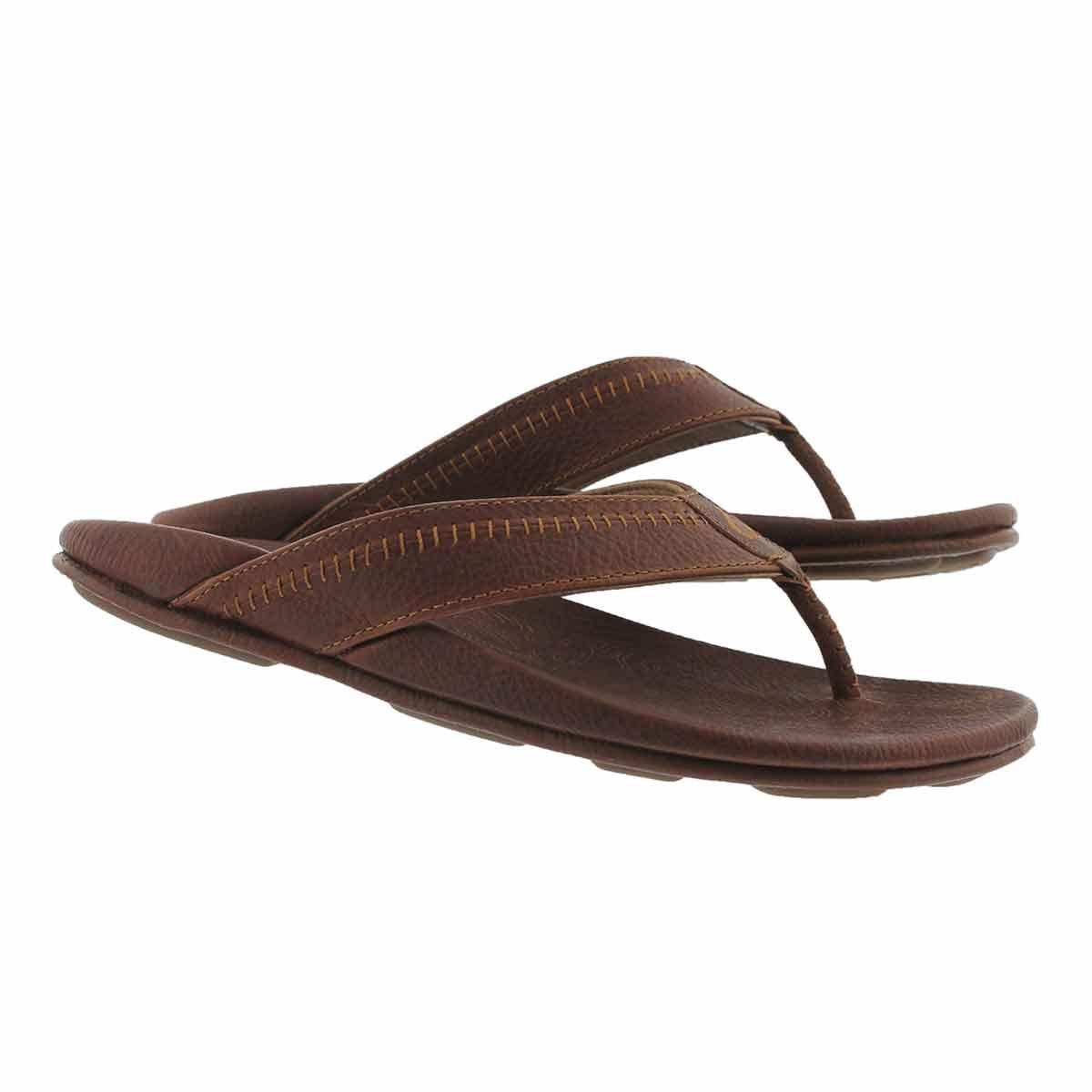 Mns Hiapo teak thong sandal