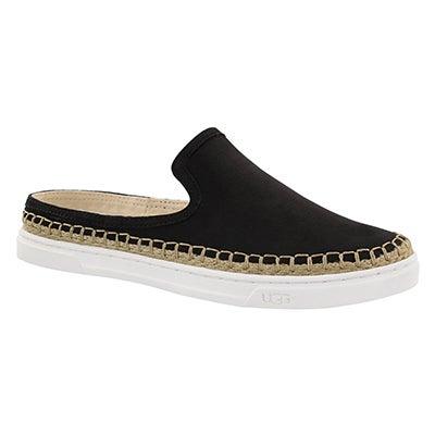 UGG Australia Women's CALEEL black open back loafers