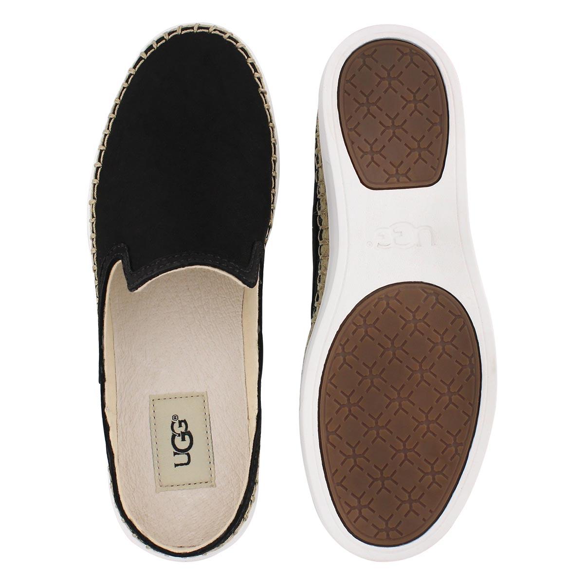 Lds Caleel black open back loafer