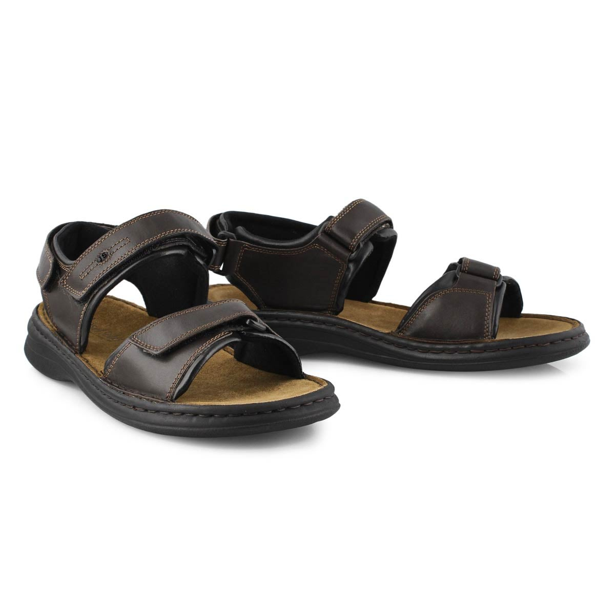Mns Rafe brown casual sandal-WIDE