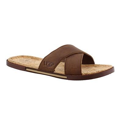Mns Ithan Cork luggage leather sandal