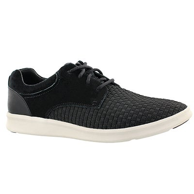 UGG Australia Men's HEPNER WOVEN black casual lace up shoes
