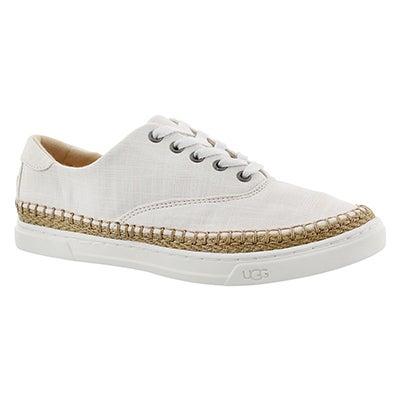 Lds Eyan II white lace up sneaker