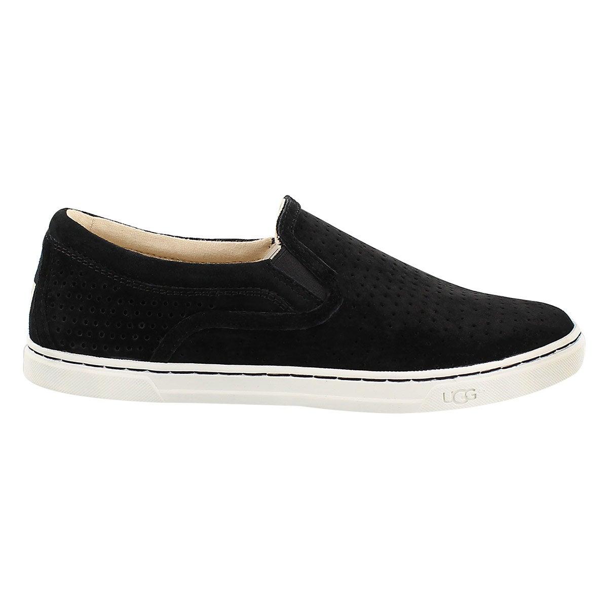 Lds Fierce Geo Perf blk slip on shoe