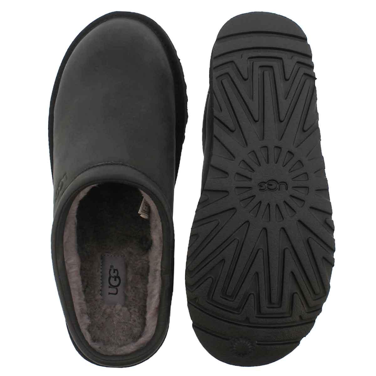 Mns Classic black casual clog