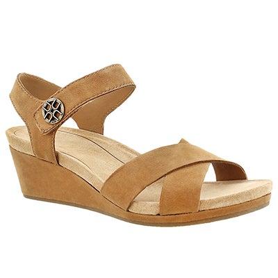 UGG Australia Women's VEVA chestnut wedge sandals