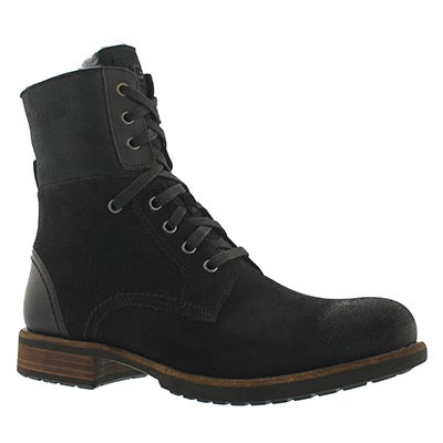 UGG Australia Men's  LARUS black lace up combat boots