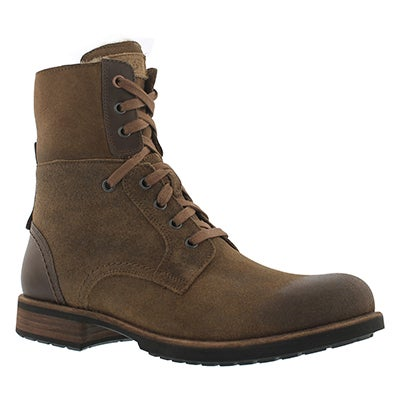 UGG Australia Men's LARUS chestnut lace up combat boots