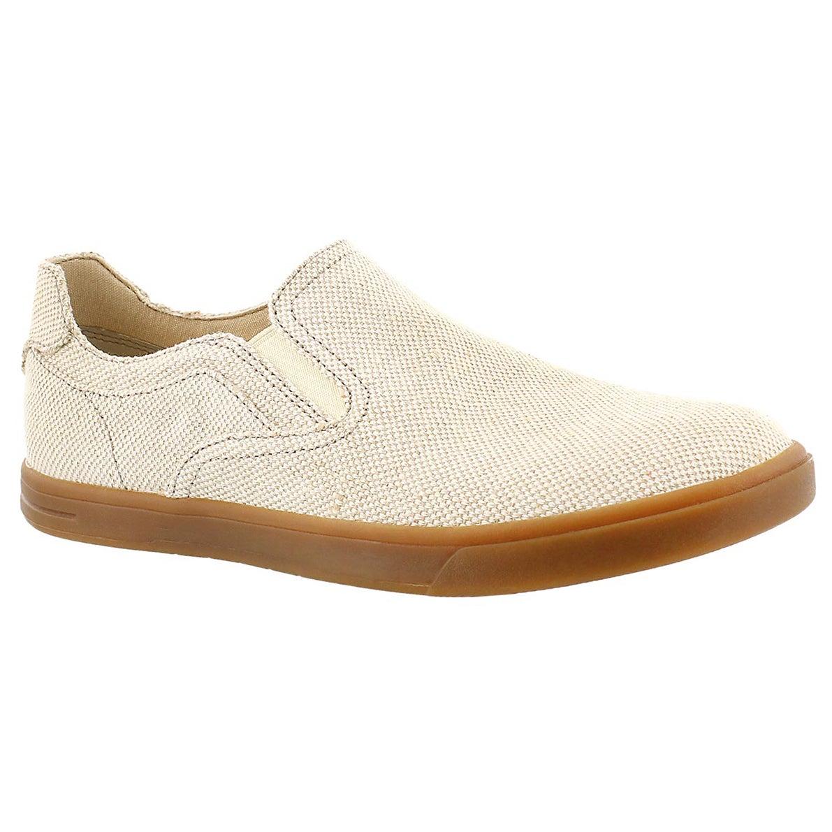 Mns Tobin Canvas sand slip on shoe