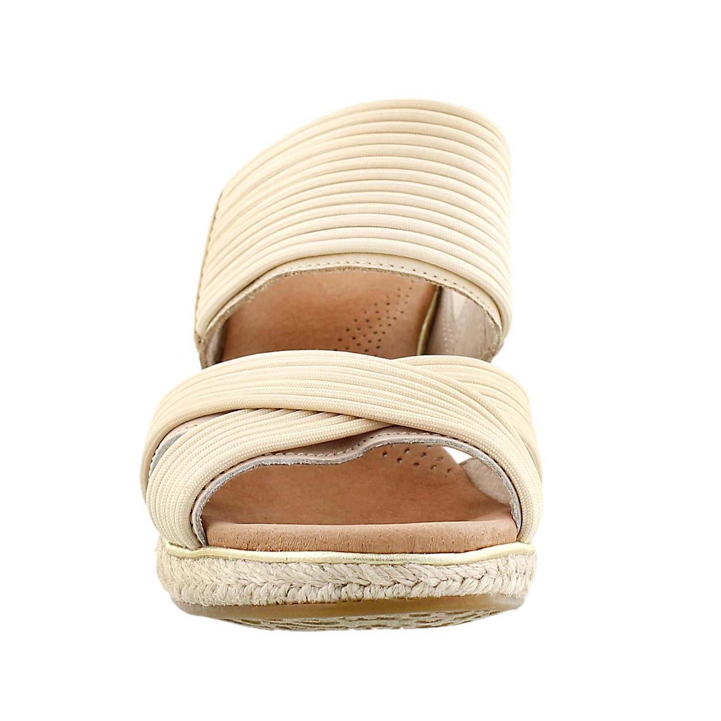 Lds Hilarie buff wedge slide sandal