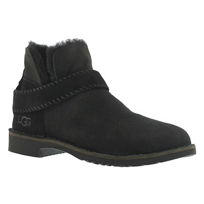 UGG Australia Women's MCKAY black sheepskin booties