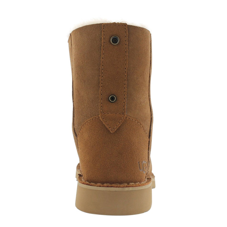 Lds Quincy ches lace up sheepskin boot