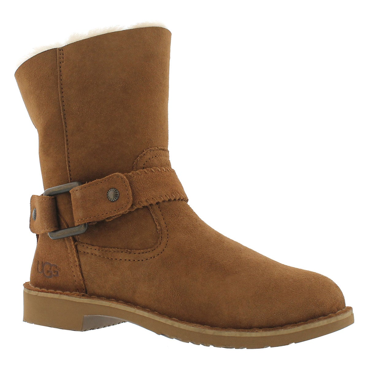 Lds Cedric ches fold down sheepskin boot