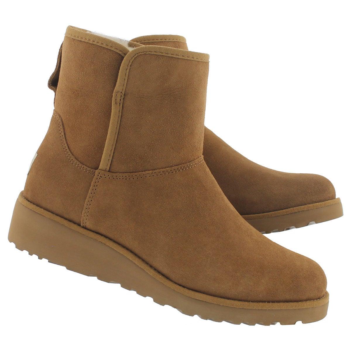 Lds Kristin ches wedge sheepskin boot