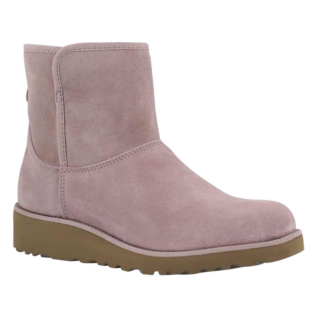 Women's KRISTIN dusk wedge sheepskin boots