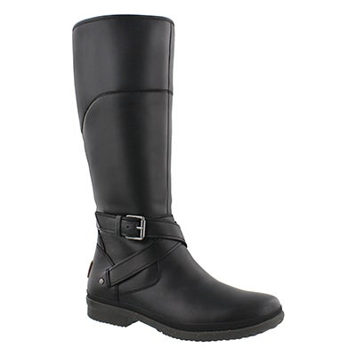 UGG Australia Women's EVANNA black waterproof riding boots