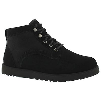 Lds Bethany black lace up boot
