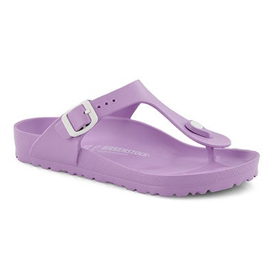 Lds Gizeh lavender EVA thong sandal