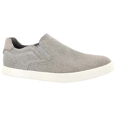 Mns Tobin Canvas seal slip on shoe
