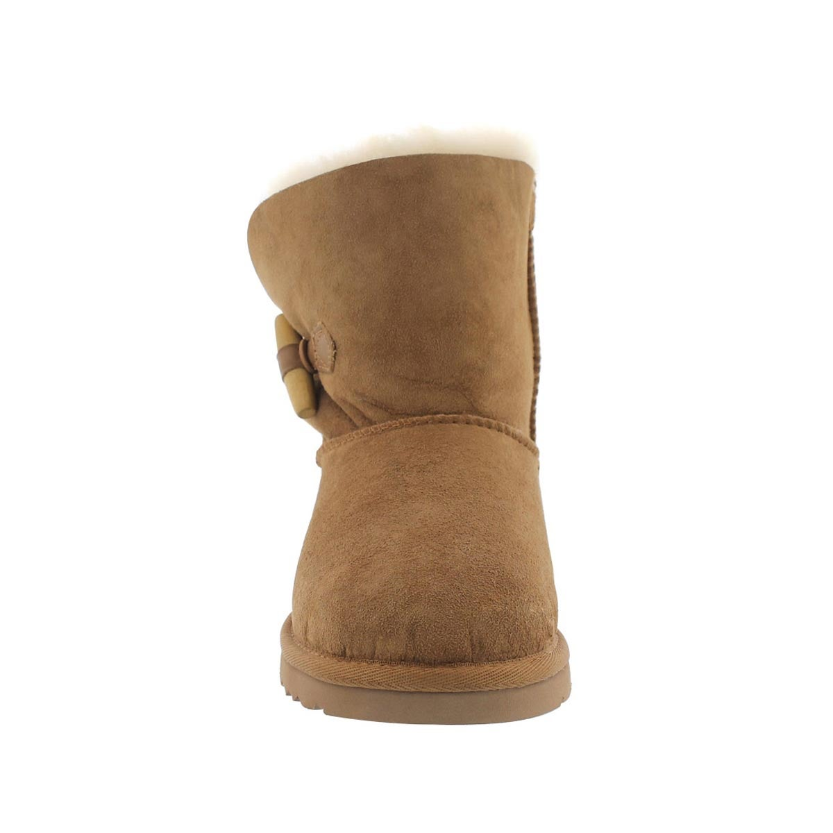 Grls Ebony ches sheepskin toggle boot