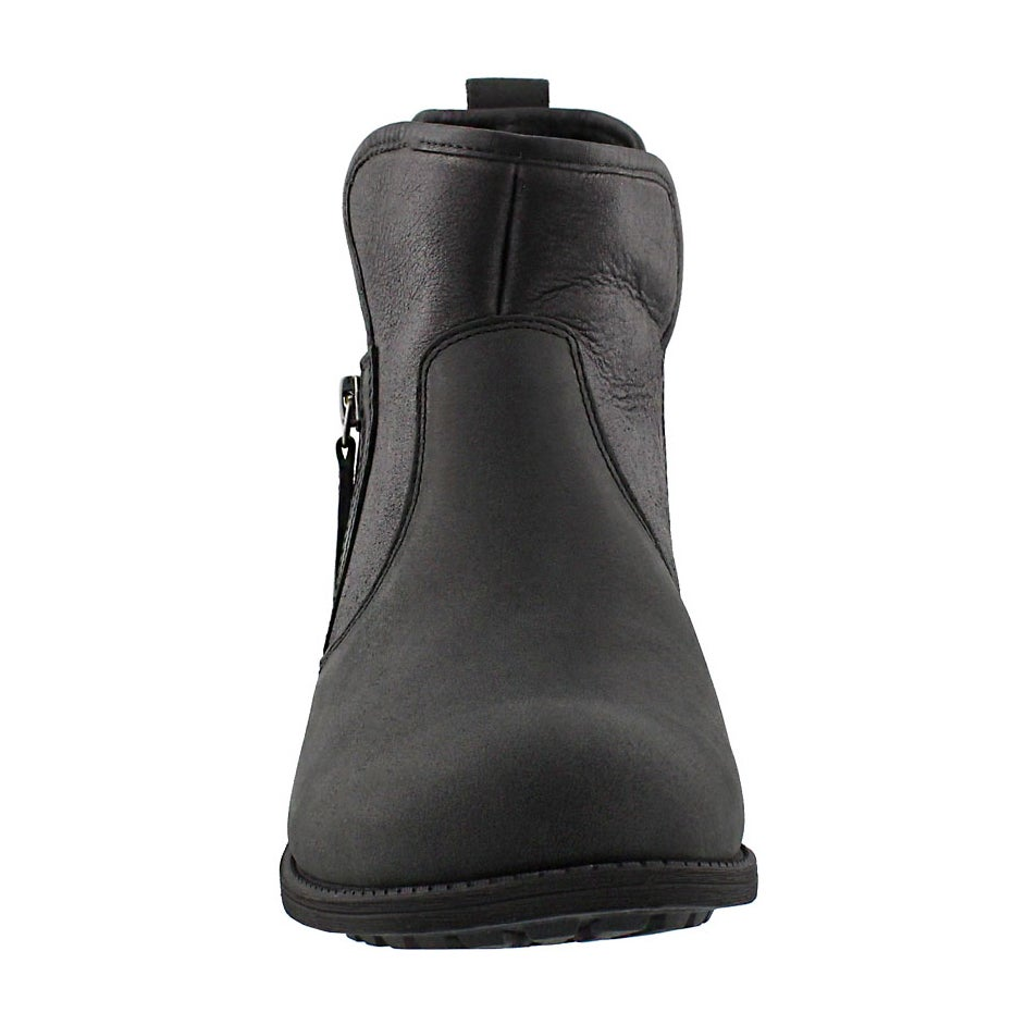 Lds LaVelle black zipper ankle boot