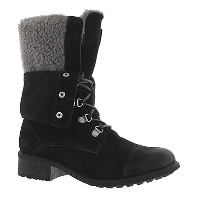 UGG Australia Women's GRADIN black casual ankle boots