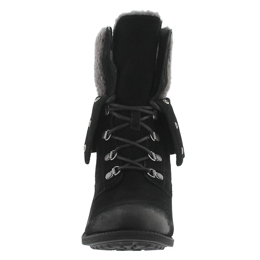 Lds Gradin black casual ankle boot