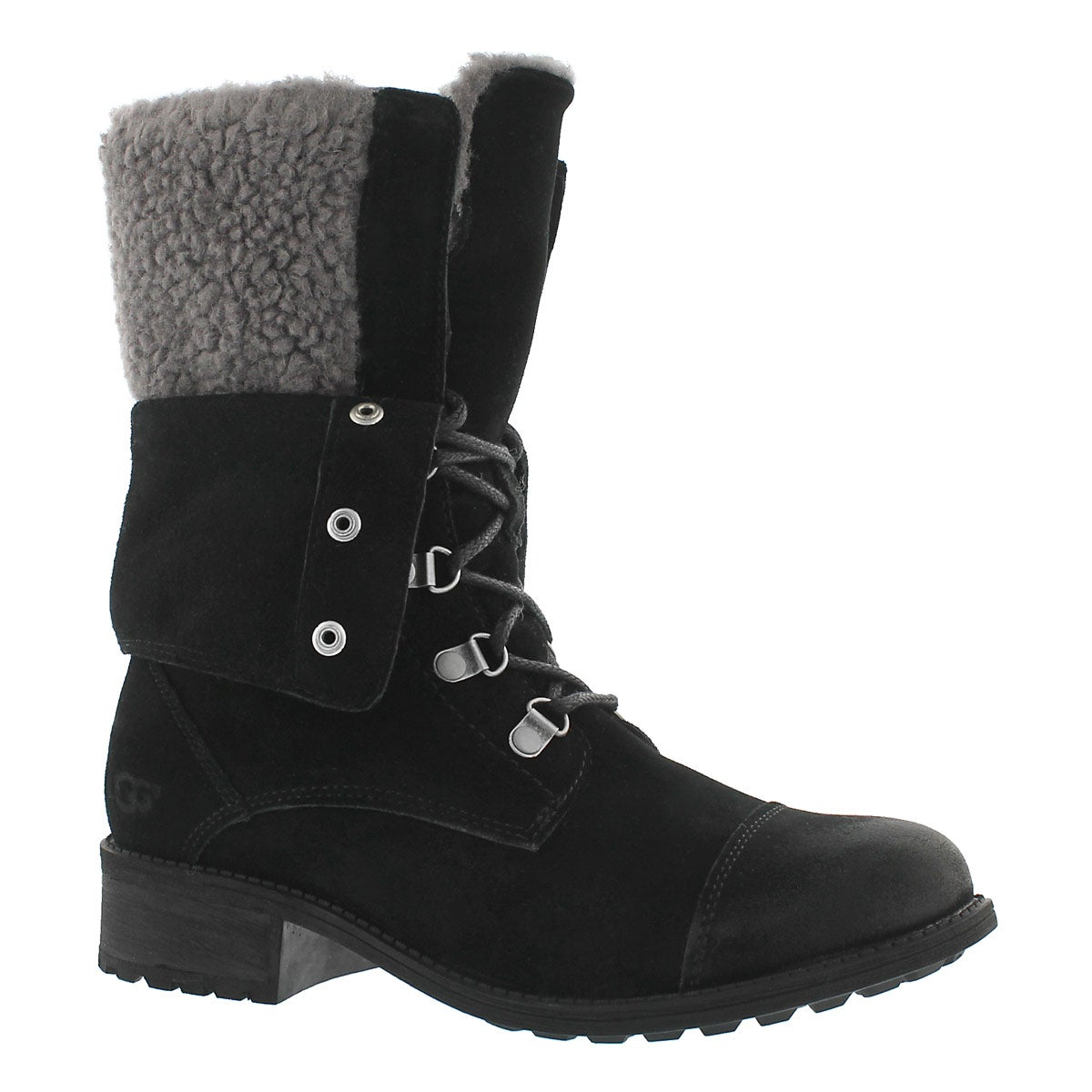 Women's GRADIN black casual ankle boots