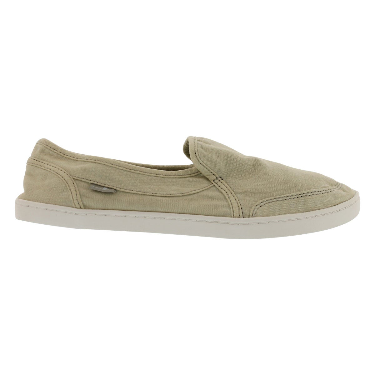 Lds Pair O Dice naural slip on shoe