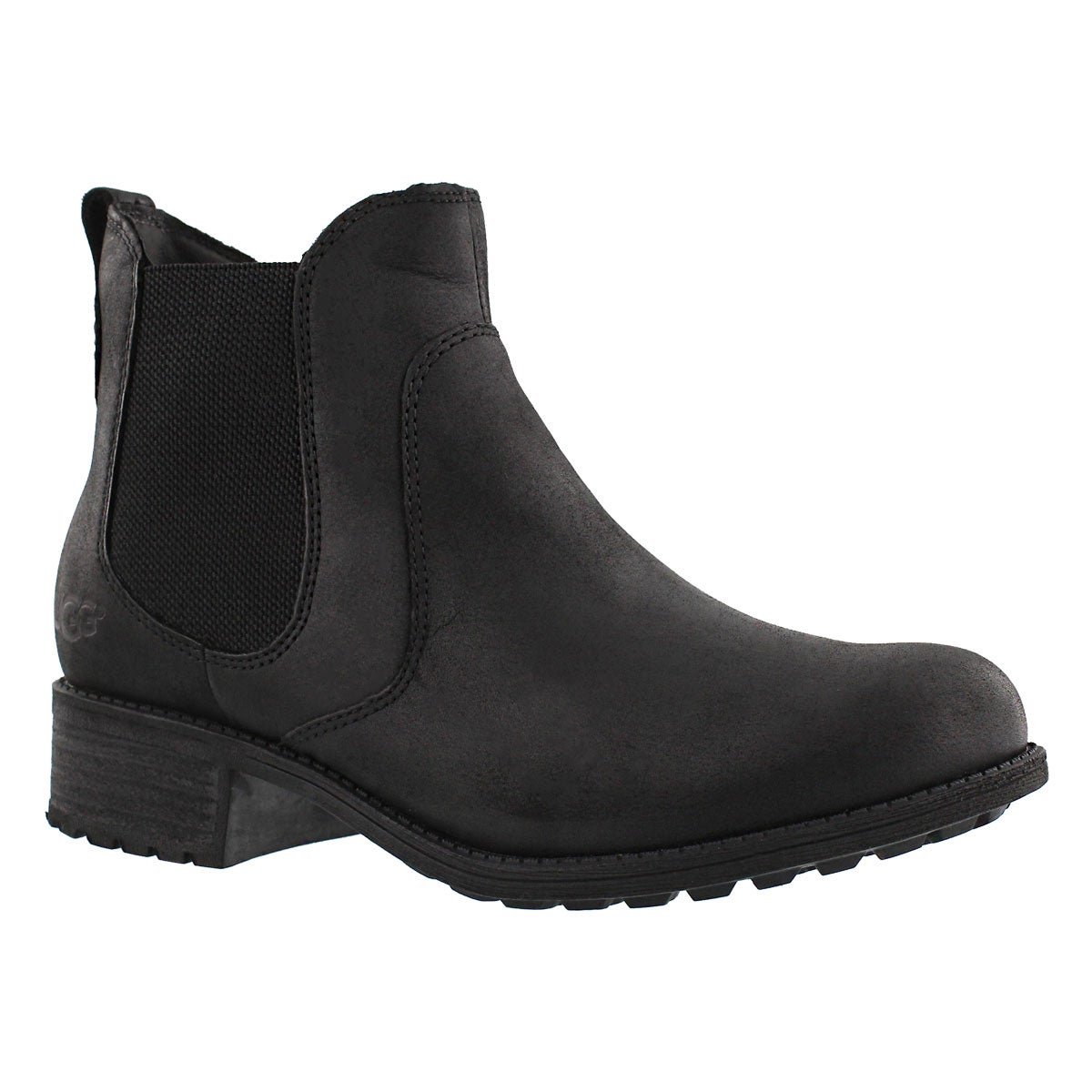 Lds Bonham black chelsea boot
