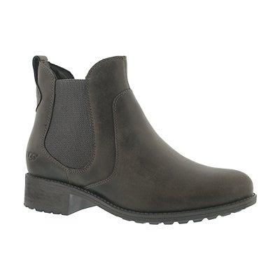 Lds Bonham grey chelsea boot