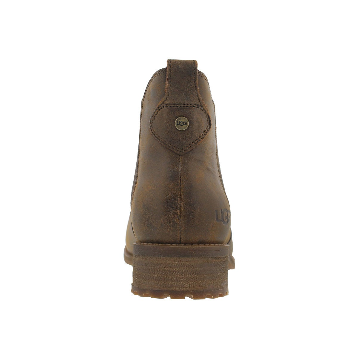 Botte Chelsea Bonham, brun stout, femmes
