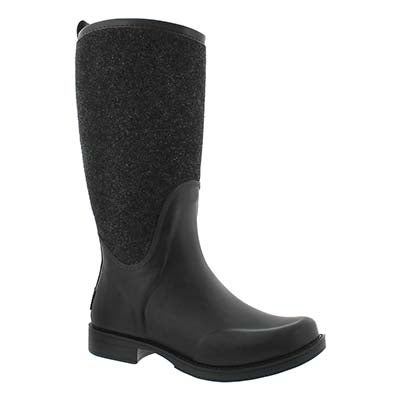 Lds Reignfall black rainboot