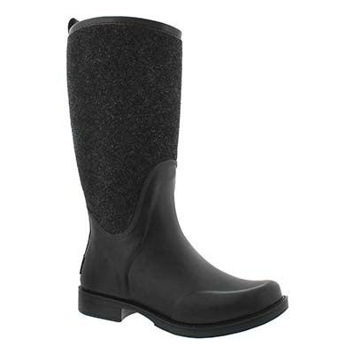 UGG Australia Women's REIGNFALL black rain boots