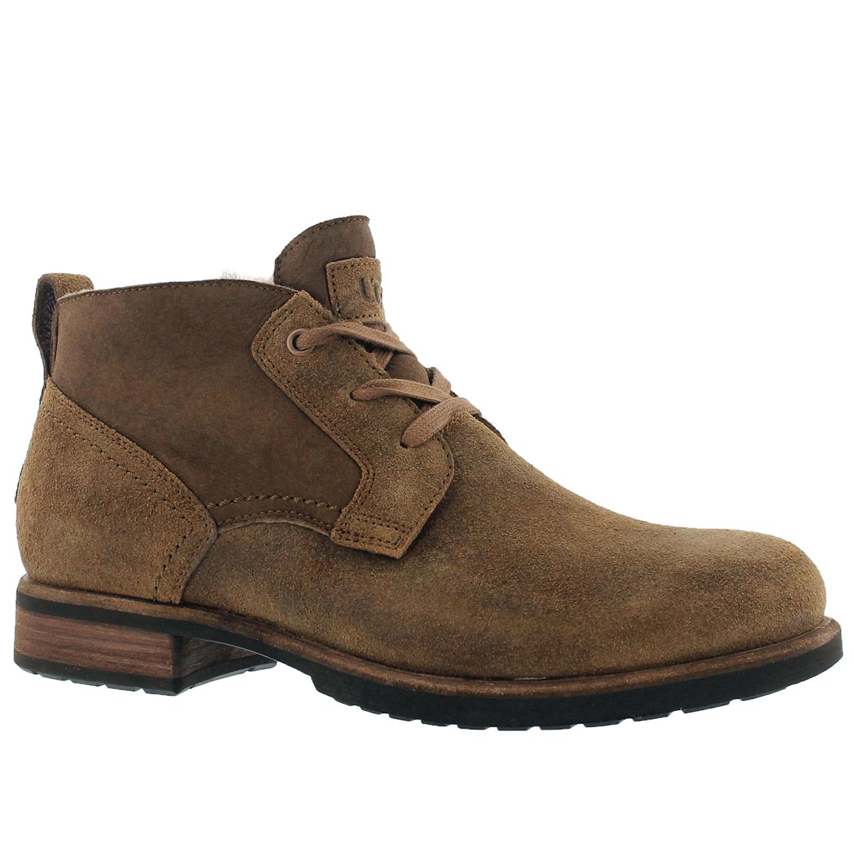 Mns Brompton chestnut laceup chukka boot